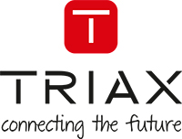 TRIAX logo statement RGB small