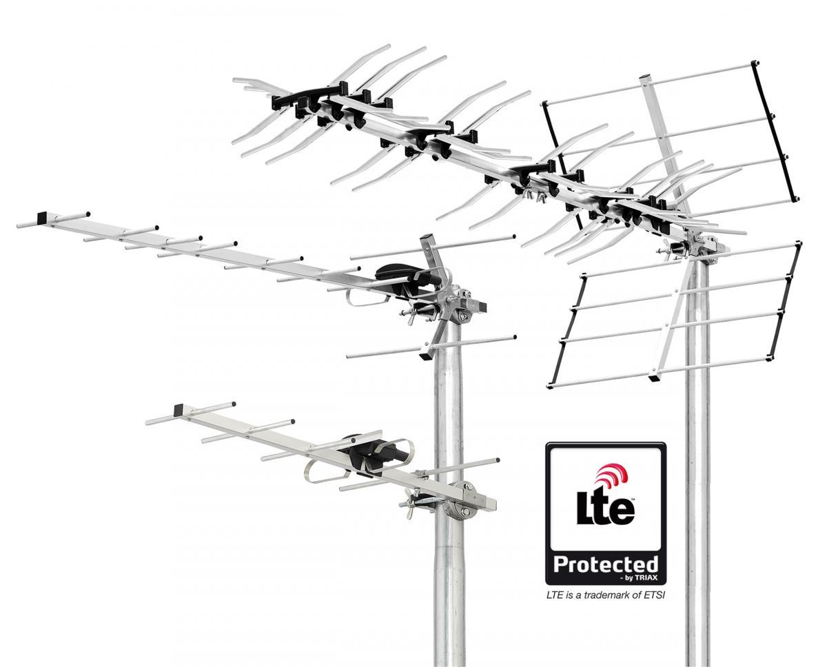 Aerial antennas
