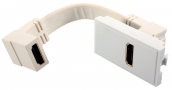 HDMI module White 50x25mm
