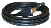 HDMI® 2m Cable High Speed with Ethernet, Polybag