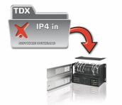 TDX IPTV-in 4 service - Start