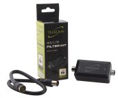 Telecam 4G/LTE Ch59 Filter - LTE 800 protected
